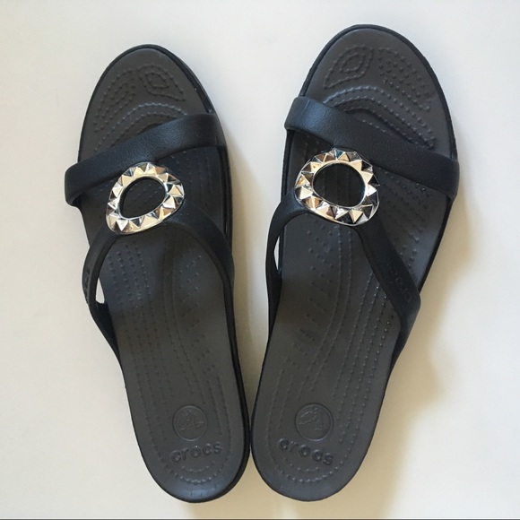 3f7c59a0b72b CROCS Shoes - Crocs Flip Flop Dress Sandals